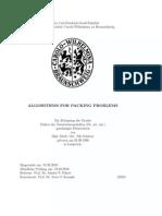 Nils Schweer- Algorithms for Packing Problems
