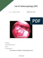 Jorl Volume 2 Issue1