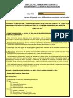 Criterios Selectividad Biologia 2011-12