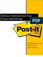 Post-It Final Project Report by Pam
