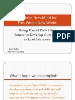 Developing Lead Learners