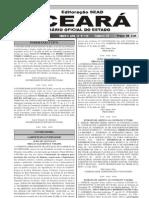 Diário Oficial com edital de abertura do Concurso SESA 2006 pag 36 a 54.