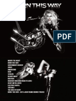 Digital Booklet - Born This Way (Standard Edition)