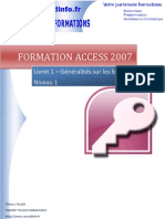 Formation Access 2007