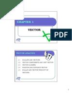 Chap 1 - Vector