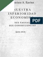 Nuestra Inferioridad Económica