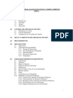 Plan de SSOMA Buenaventura
