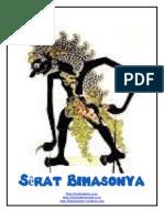 SERAT BIMASONYA