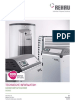 Technische Information Waermepumpenprogramm 952602-1