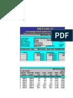 Well Log Evaluation Metalog 2