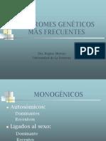 Sindromes genéticos más frecuentes - Dra. Moreno
