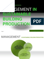 Management Sustainable Building