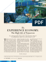 Eric Garland - The Experience Economy