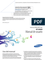 Samsung s5830 Galaxy Ace.manual