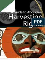 Aboriginal Harvesting Rights