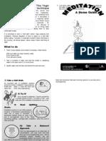 Intro Meditaton Booklet