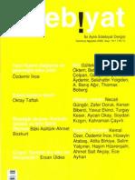 Baki Asiltürk-Ahmet Bozkurt, Diyaojik Okuma-Turgut Uyar, Edip Cansever, ÖZGÜR EDEBİYAT, Temmuz-Ağustos 2009 sayı 16