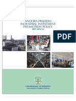 Andhra Pradesh Industrial Investment Policy...2010-15