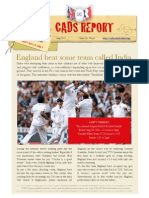 New Cads Report Aug 2011