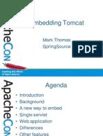 2010 11 04 Embedding Tomcat