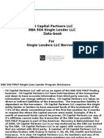 CH Capital 504 Single Borrowers Program