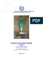 selbstbau hydraulischer widder