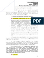 Psicologia Jurídica - Aula 04 - 250311
