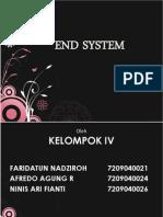 End System Bener