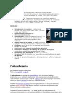caracteristicas deñ policarbonato