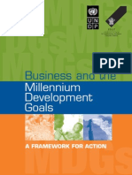 Business and the MDG Goals