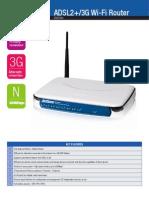 3G15Wn Spec Sheet