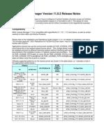 Altair Licensing V11.0.2 Releasenotes