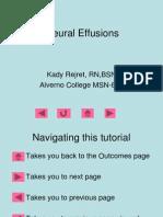 Pleural Effusions