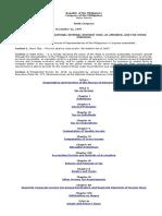 Amended National Internal Revenue Code
