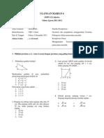 Uji Soal Pythagoras Smp 232