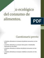 Impacto ecológico del consumo de alimentos