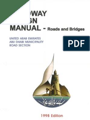 UAE Roadway Design Manual | Controlled Access Highway | Interchange