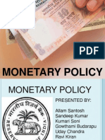 Monetary Policy (1)