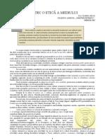 ARTICOL SIMP INTERNATIONAL PENTRU O ETICĂ A MEDIULUI