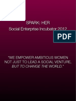 SparkHer Incubator 2011