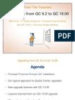QC 10.00 Upgrade Slides
