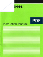 Hesmon 64 Instruction Manual