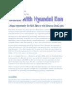Don2 With Hyundai Eon