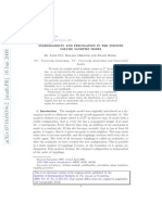 Anne Fey, Ronald Meester and Frank Redig- Stabilizability and percolation in the infinite volume sandpile model