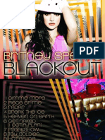 Britney Spears - Blackout - Digital Booklet