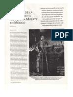 Cronicas de La Buena Muerte a La Santa Muerte en Mexico
