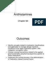 Antihistamines Antacids Uri Meds