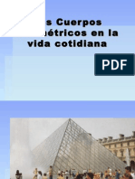 Los Cuerpos Geométricos en La Arquitectura