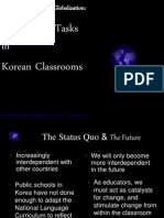 Global-Using More Tasks in Korean Classrooms