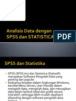 Analisis Data Dengan SPSS Dan Statistic A